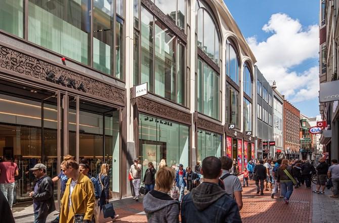 Tassen Nieuwendijk Amsterdam : Amsterdam nieuwendijk nowadays bouwinvest